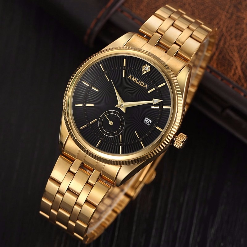 c5b74deedee relógio barato a muda dourado de luxo pronta entrega + brind. Carregando  zoom.