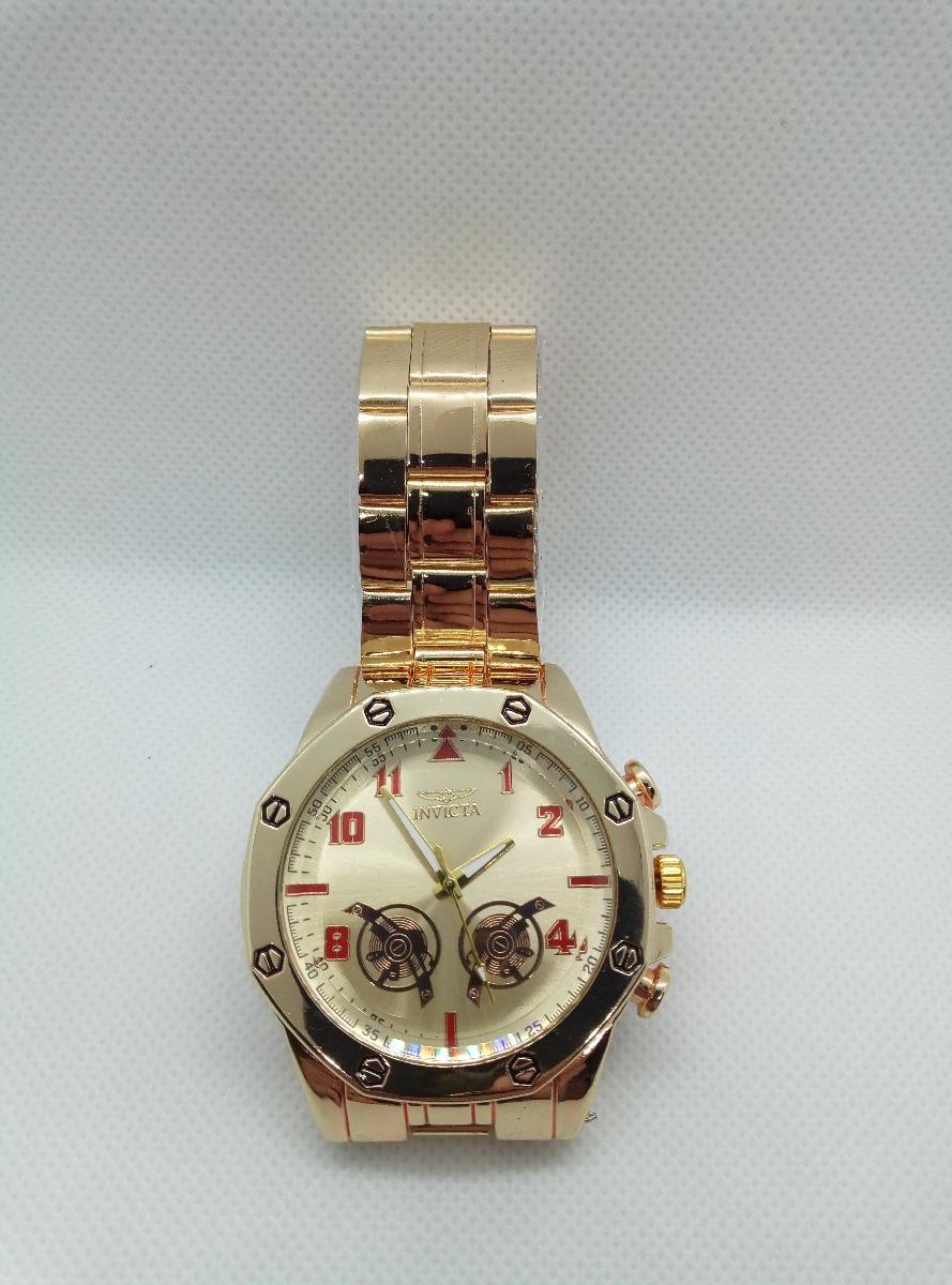01283ae4195 relógio barato e bonito pulseira dourada promoção cx brinde. Carregando zoom .