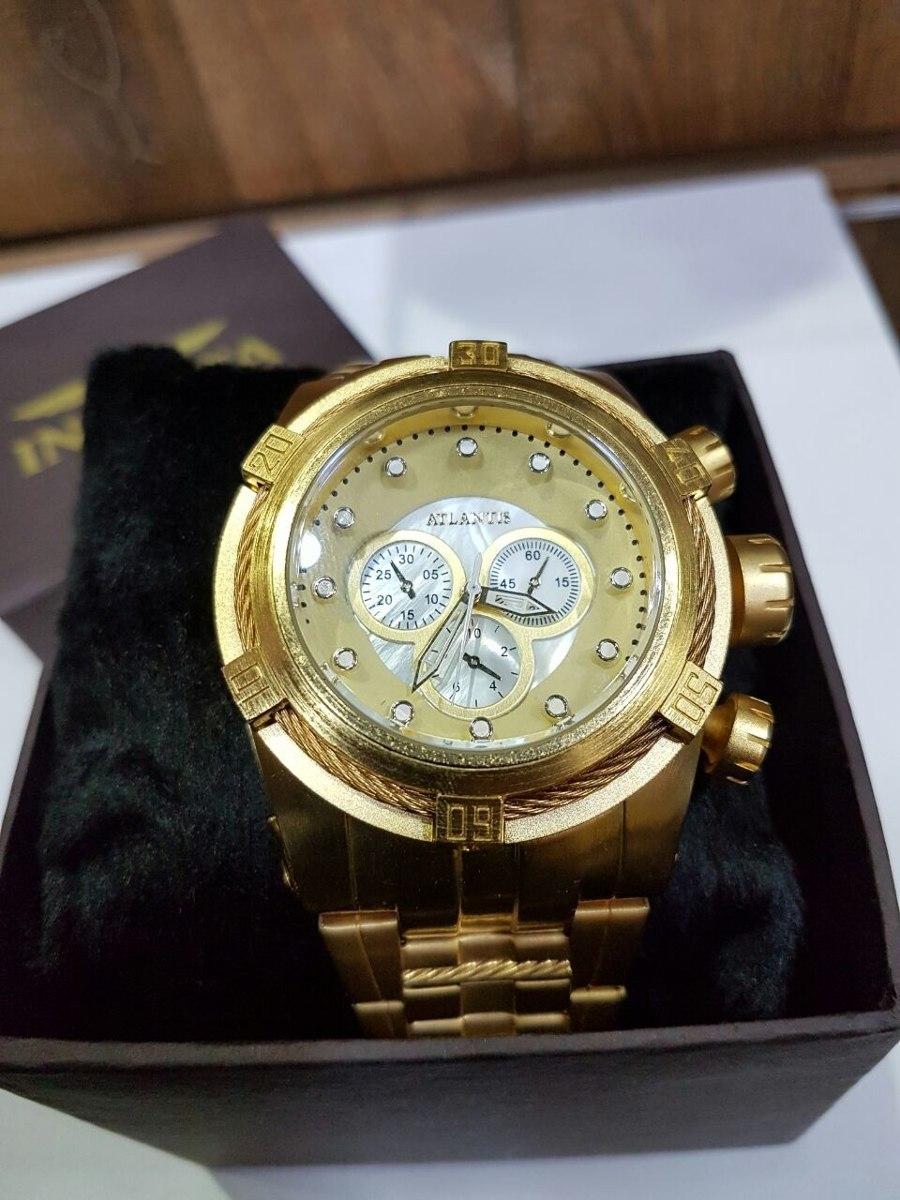 96fd6ea85d4 relógio barato em promoção grande pesado estilo ostentação. Carregando zoom.