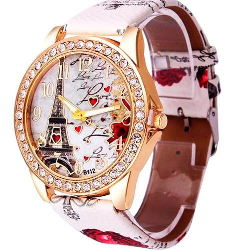 relógio barato feminino torre com strass