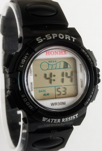 relógio barato infantil honhx menino sport com luz de led