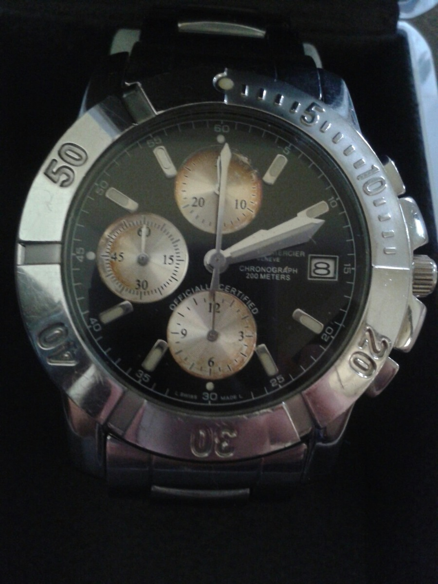 45695c50dd0 Relogio Baume Mercier Geneve - R  3.500