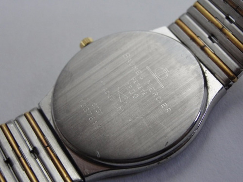 relógio baume & mercier aço e ouro - masculino - original