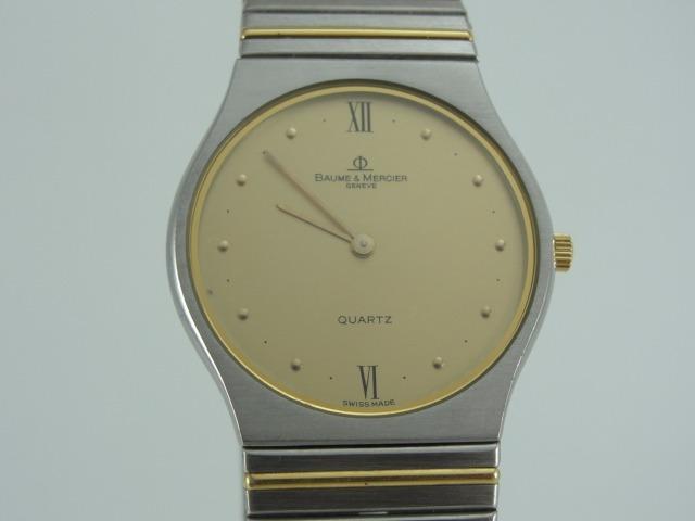 ff99ff5305e Relógio Baume   Mercier Aço E Ouro - Masculino - Original - R  2.900 ...