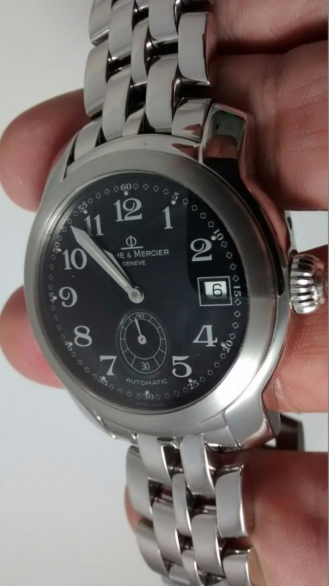e70de71e3c9 relógio baume   mercier capeland preto automático c  data. Carregando zoom.
