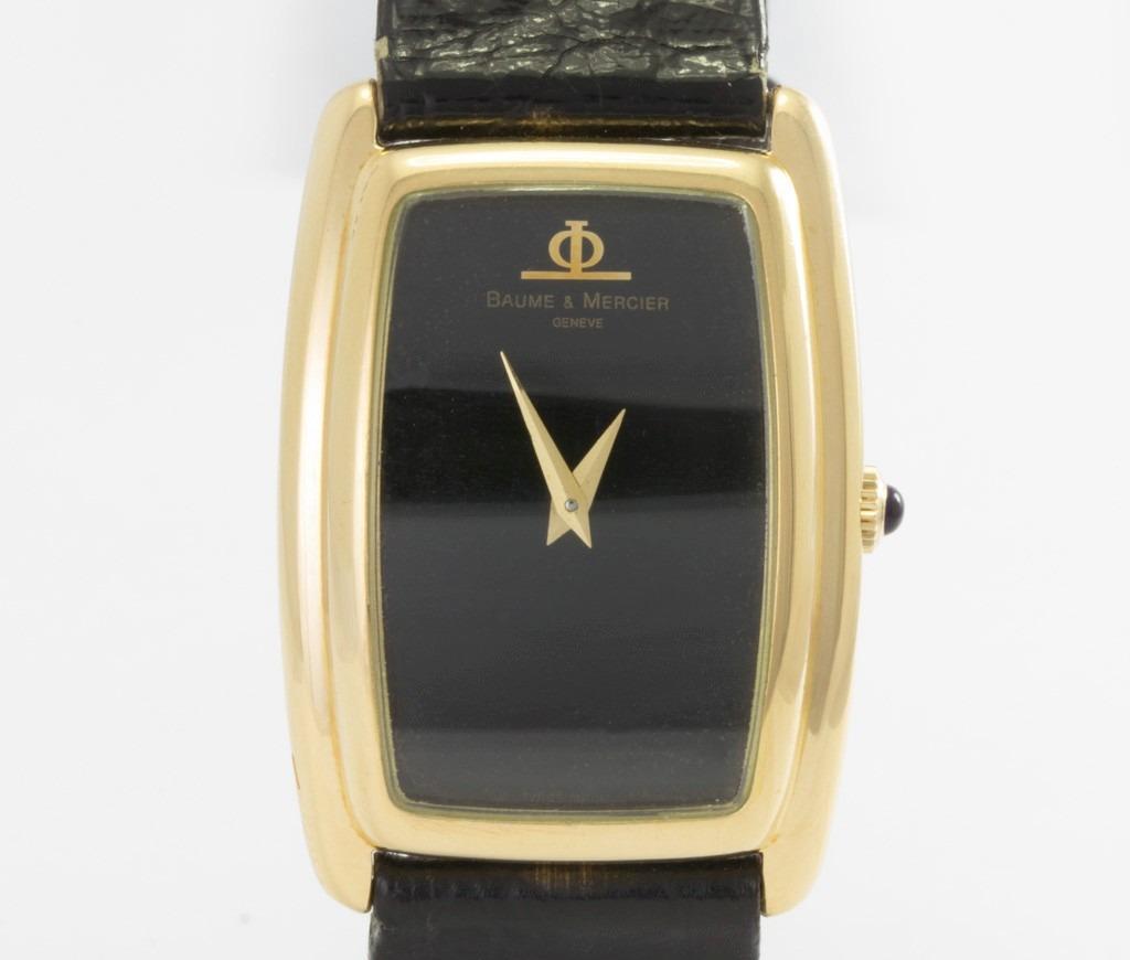 9944b5bbdcf relógio baume mercier em ouro 18k unissex. Carregando zoom.