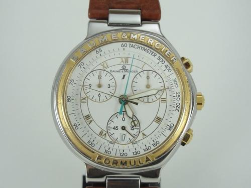 relógio baume & mercier - formula s - masculino - original