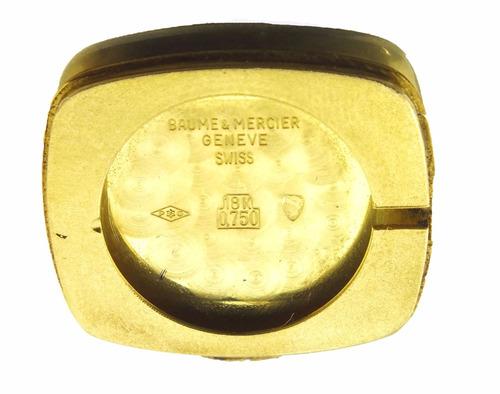 relógio baume & mercier geneve feminino em ouro 18k j17305