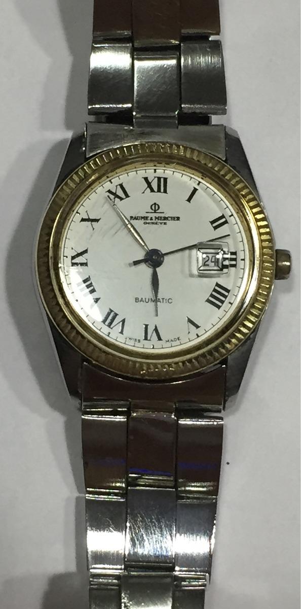 2195bbe872c relógio baume mercier original automático baumatic 31mm. Carregando zoom.