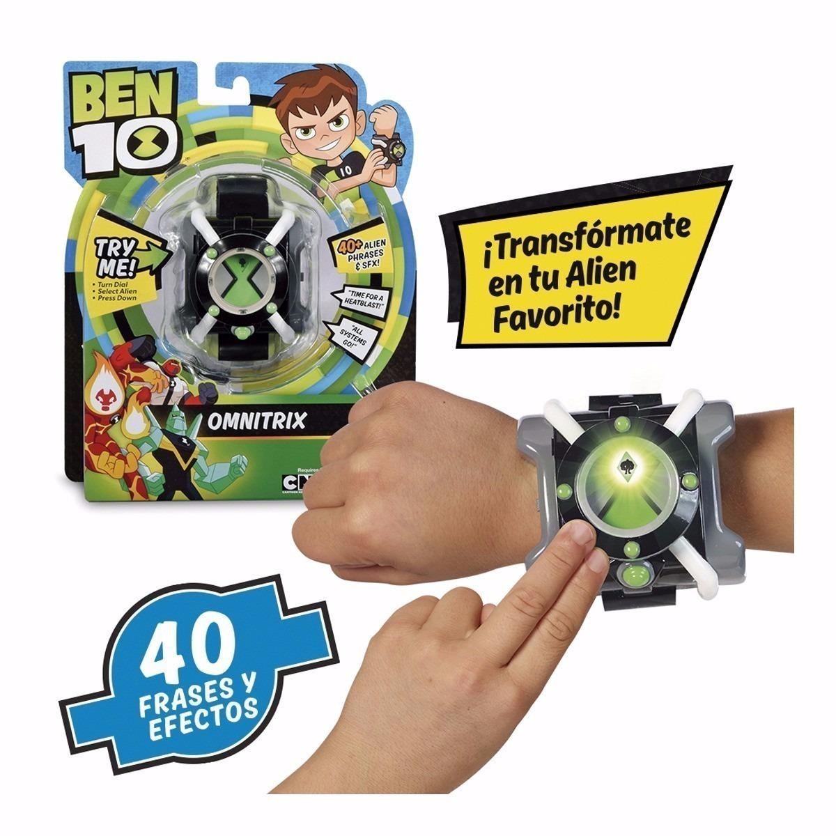 353419547b8 Relógio Ben 10 Omnitrix Com Luz E Som Sunny 1755 - R  165