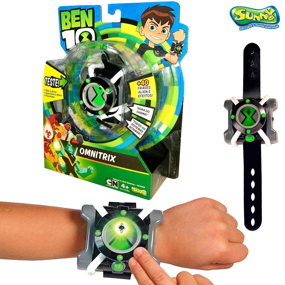 b2ccbdb7780 relógio ben 10 omnitrix luz e som frases em português sunny. Carregando  zoom.