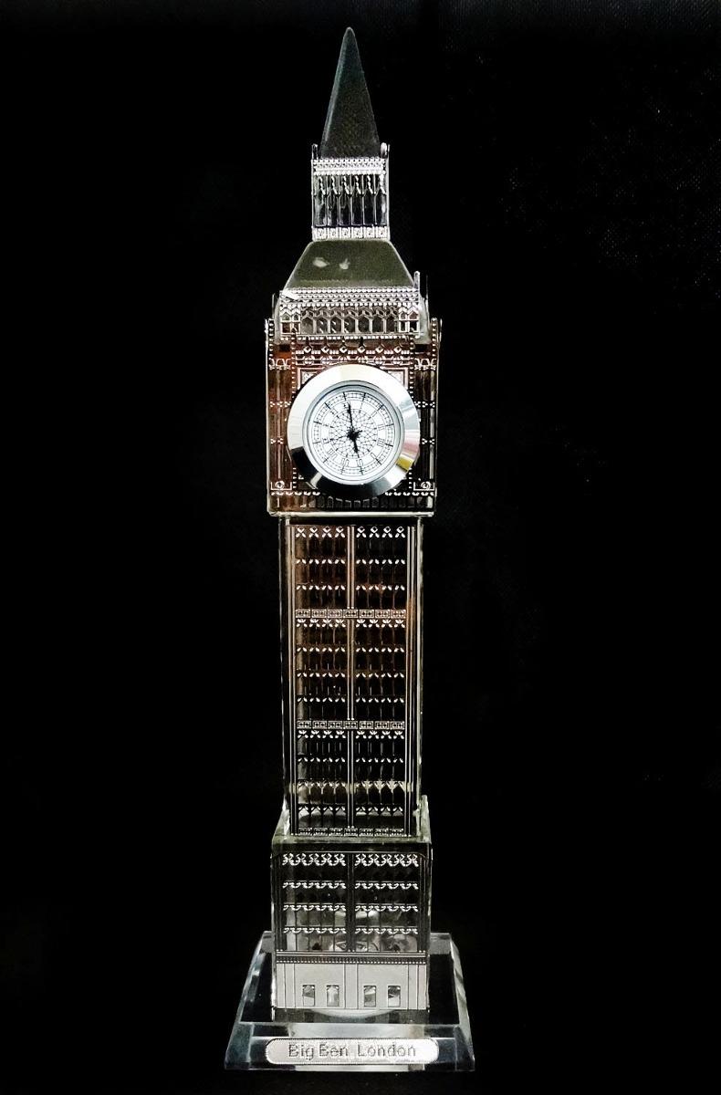 8c4d0571640 relógio big ben mesa londres decoração iluminado casa sala. Carregando zoom.