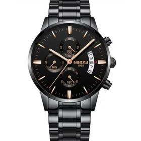 Relógio Blindado Nibosi Anti-risco Funcional Luxo Promoção