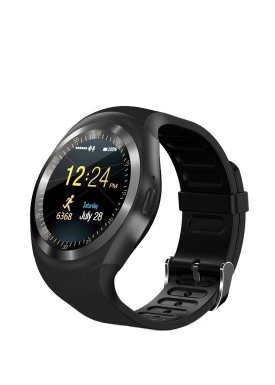 relogio bluetooth inteligente smart watch y1 android e ios. Black Bedroom Furniture Sets. Home Design Ideas