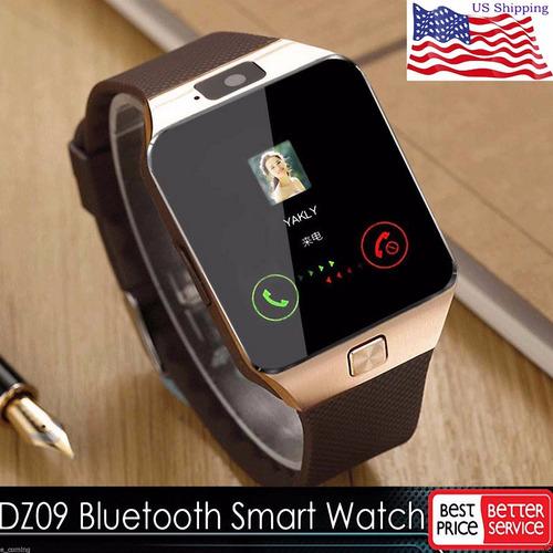 relógio bluetooth modelo  dz 09 para celulares android