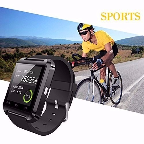 a1306ad6657 Relogio Bluetooth Smart Watch U8 Android Iphone 4 5 6 Note3 - R  99 ...