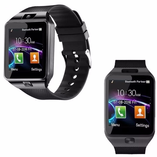0aa9ae09265 Relógio Bluetooth Smartwatch Dz09 Android Gear Black Friday - R  47 ...