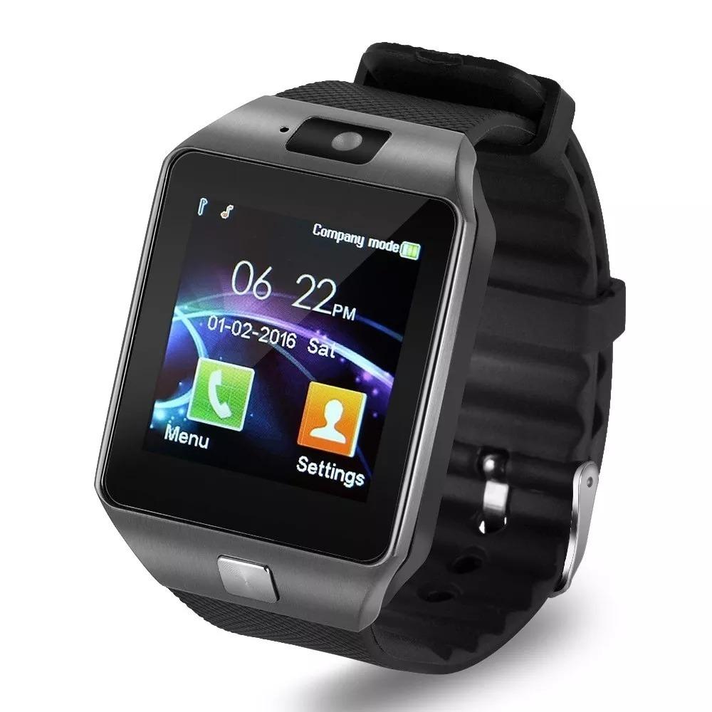 d678e34263c Relógio Bluetooth Smartwatch Dz09 Android Gear Chip - R  65