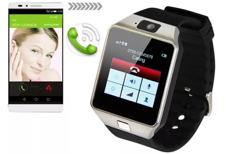 714c24b0c00 Relógio Bluetooth Smartwatch Dz09 Iphone Android Gear Chip - R  49 ...