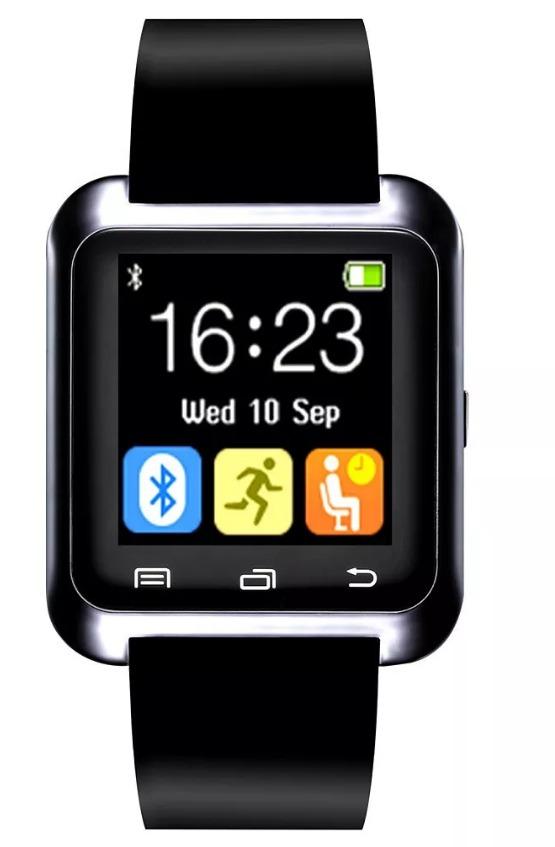 8d2f068e539 relogio bluetooth smartwatch u8 android iphone 5 6 s5 preto. Carregando  zoom.