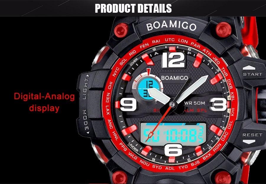 9e6d5707457 relógio boamigo militar s-shock digital prova d água. Carregando zoom.