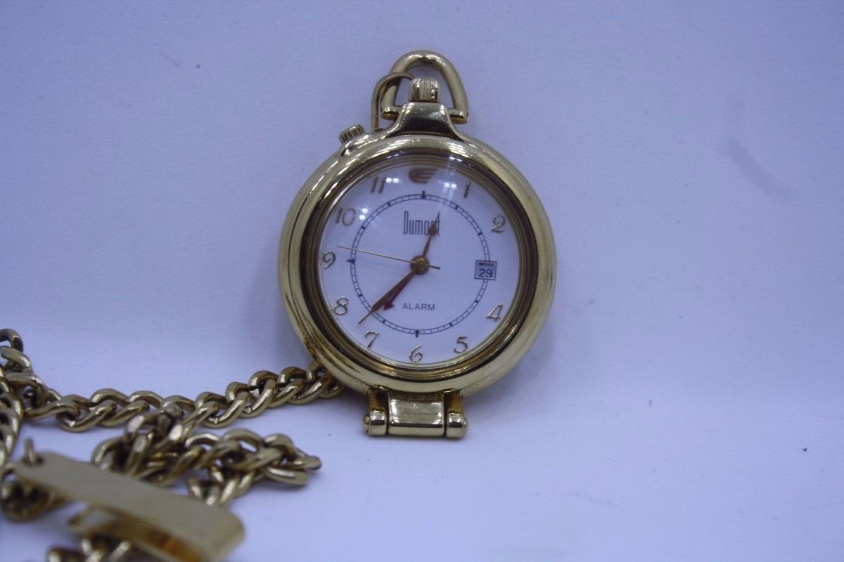 fe0b5f94e7d relógio bolso dumont original dourado. Carregando zoom.