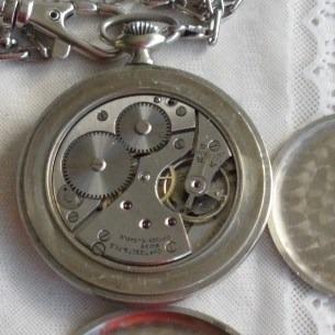 269426c46c9 Relógio Bolso Tissot 15 Jewels