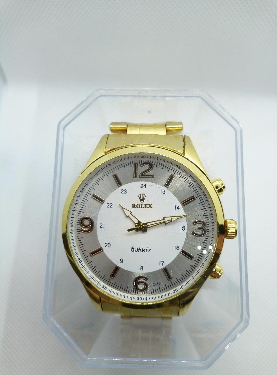 5513fdecaf8 relógio bonito elegante dourado promoção cx brinde barato. Carregando zoom.