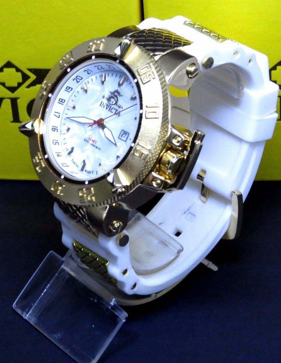 a18ae20d55c relógio branco ouro masculino todo funcional + caixa barato! Carregando zoom .