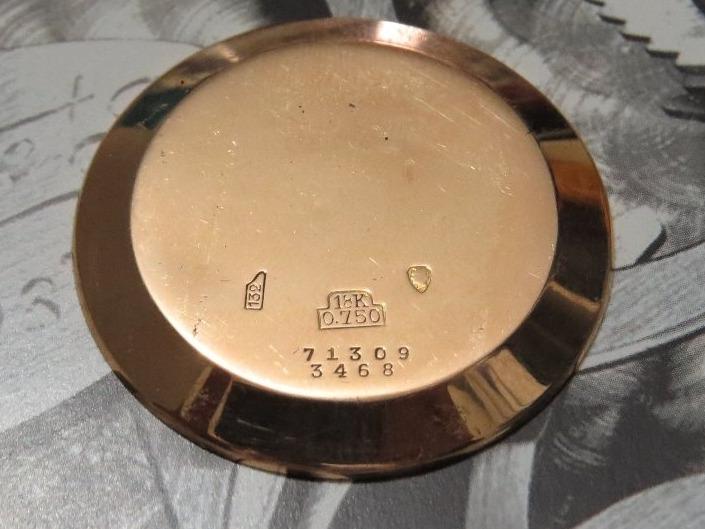 a5f0ab61a0c Relógio Breguet Exército Guerra Cronógrafo Ouro Valjoux 72 - R ...