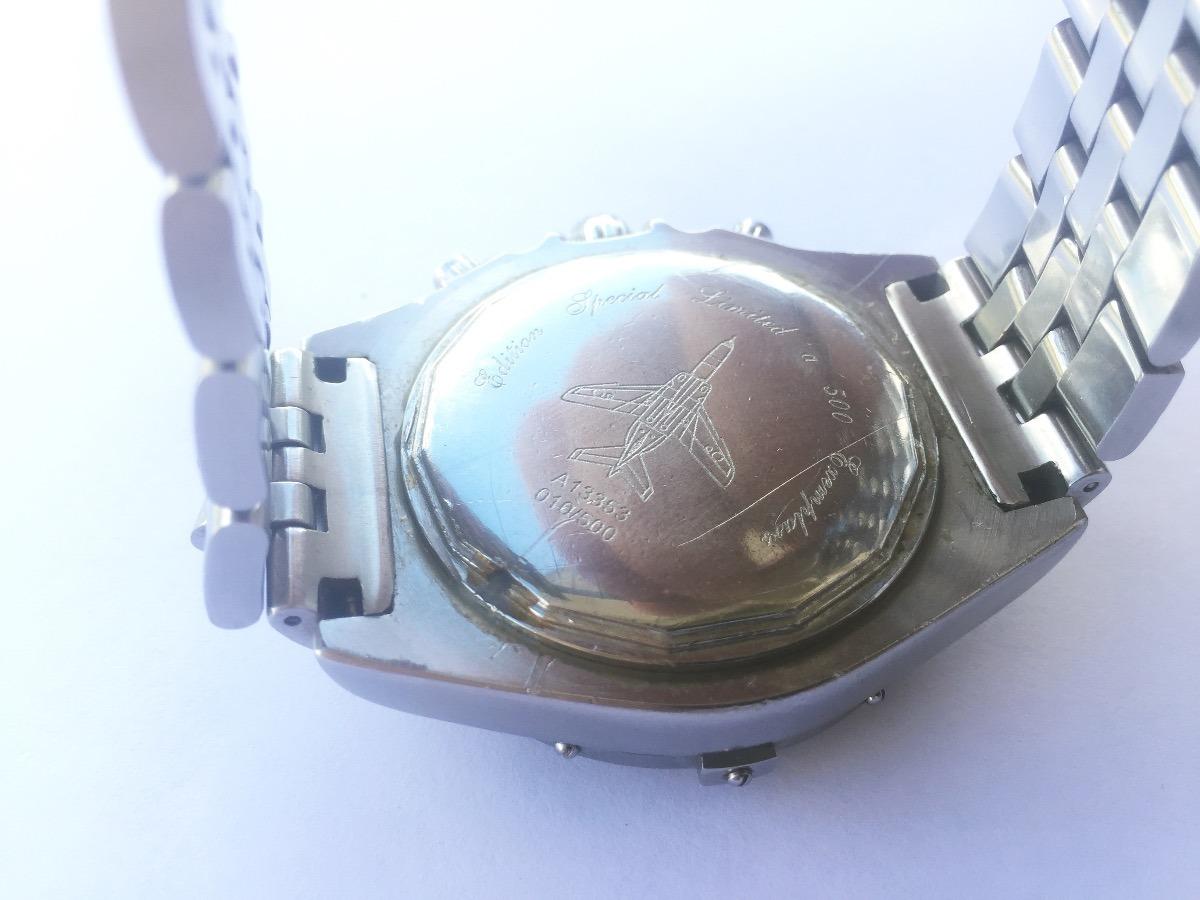 e10b6120c55 relógio breitling 1884 edição limitada a13353. Carregando zoom.