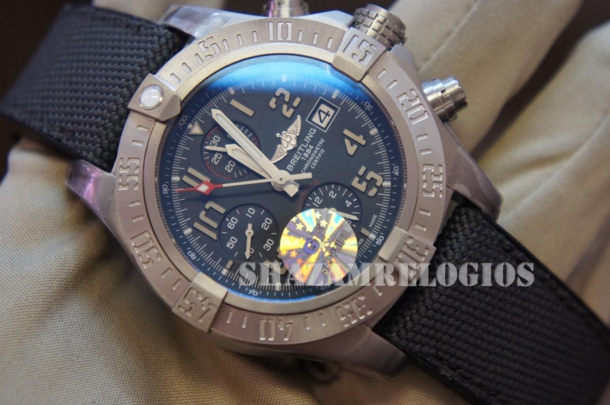eea0a87a806 Relogio Breitling Avenger Bandit Titanium 45mm Eta - R  2.885