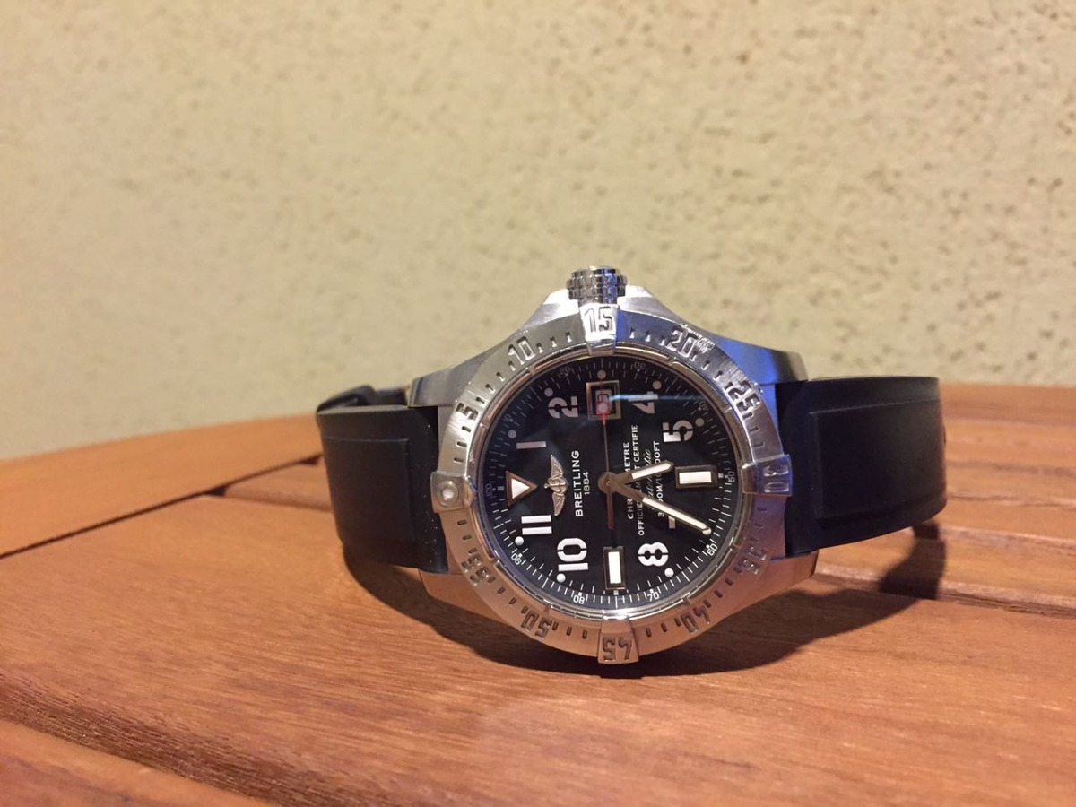 a3a67434078 relógio breitling avenger seawolf. Carregando zoom.
