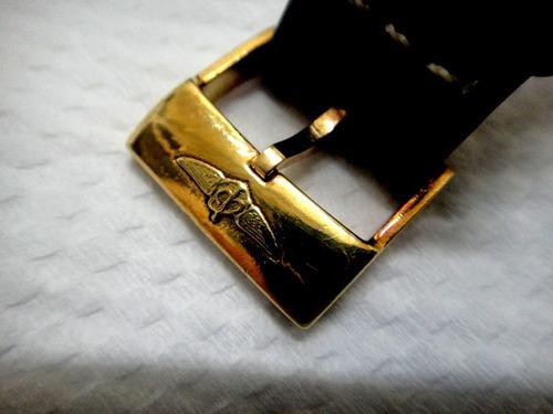 relógio breitling cockpit c49350 aço catraca  de ouro maciço