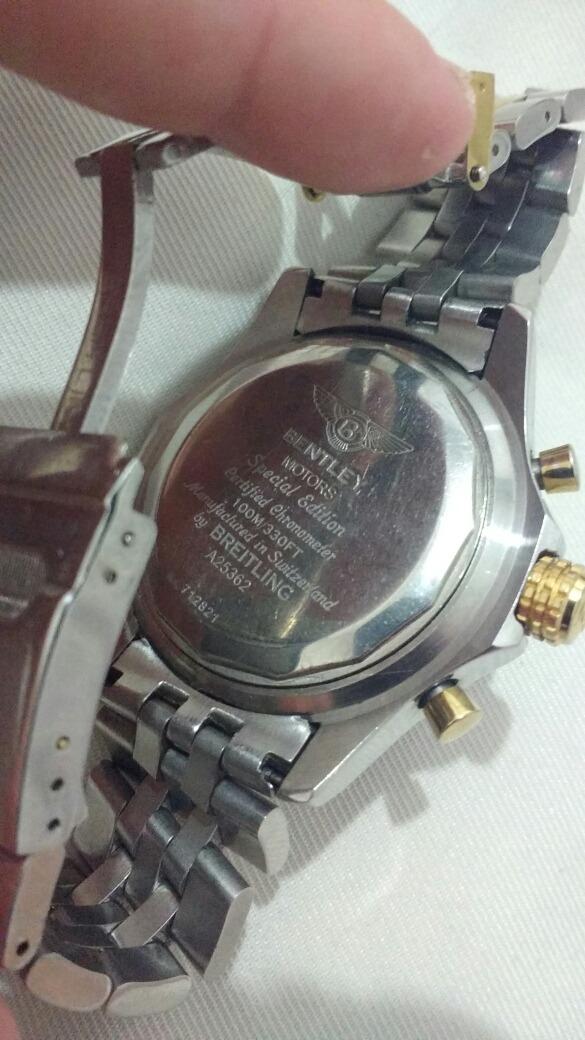 1d8527f5d8e relógio breitling motors 1984. Carregando zoom.