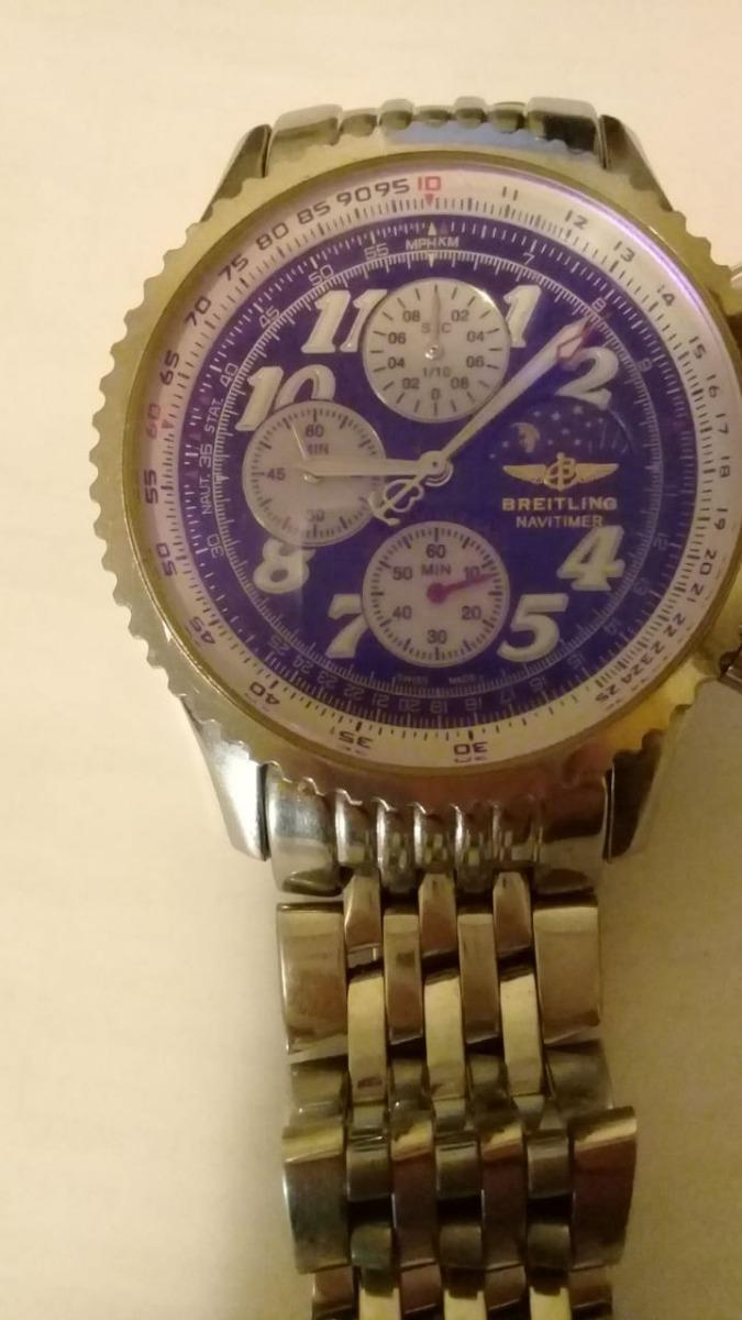 4c042cb1f9c relógio breitling navitimer. Carregando zoom.