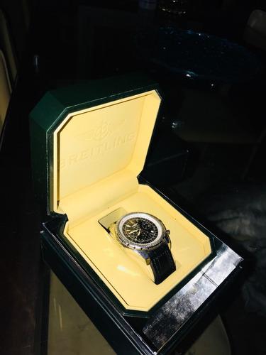 7738edb2a87 Relógio Breitling -série Especial Bentley - Usado Ano 1997 - R ...