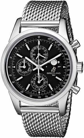 bf4a3763bd7 Relógio Breitling Transoceânico Chrono1461 Novo Original - R  31.999 ...