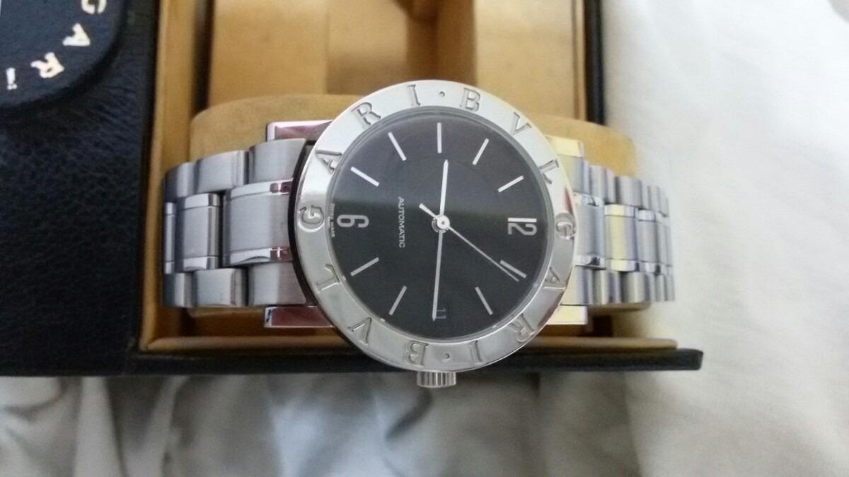 62d94867919 relógio bulgari b33 automático original. Carregando zoom.