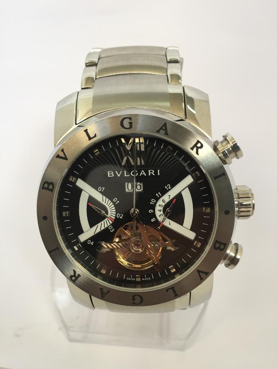24c4891b7eb relogio bulgari iron man aco automatico produto como anuncio. Carregando  zoom.
