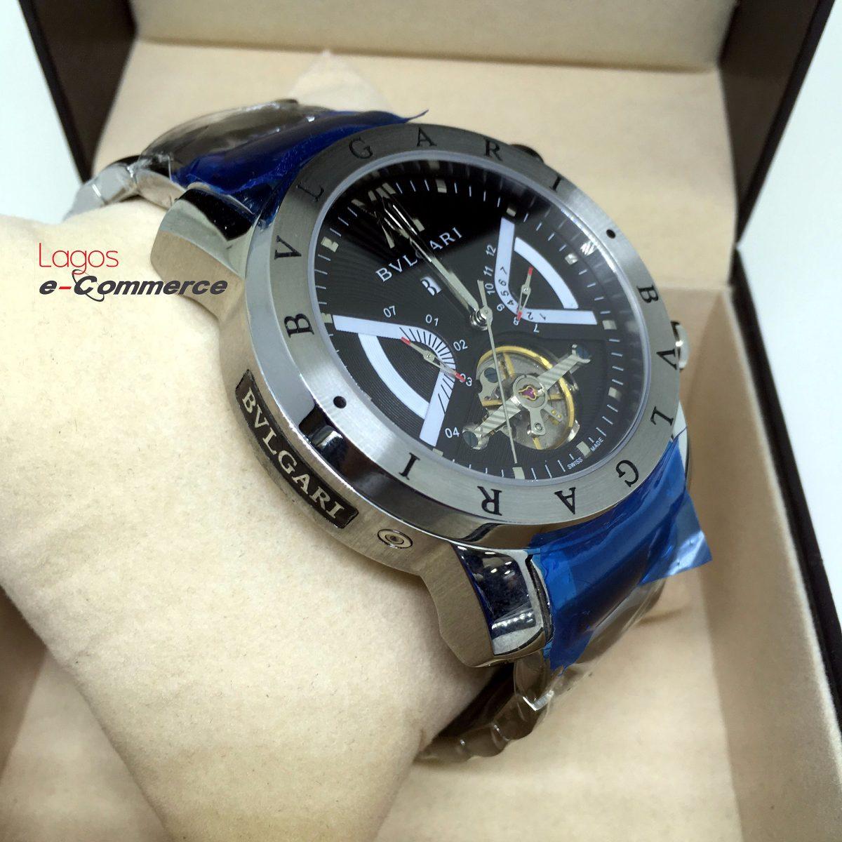 ad5b252515c relógio bulgari iron man aço automático produto original r. Carregando zoom.