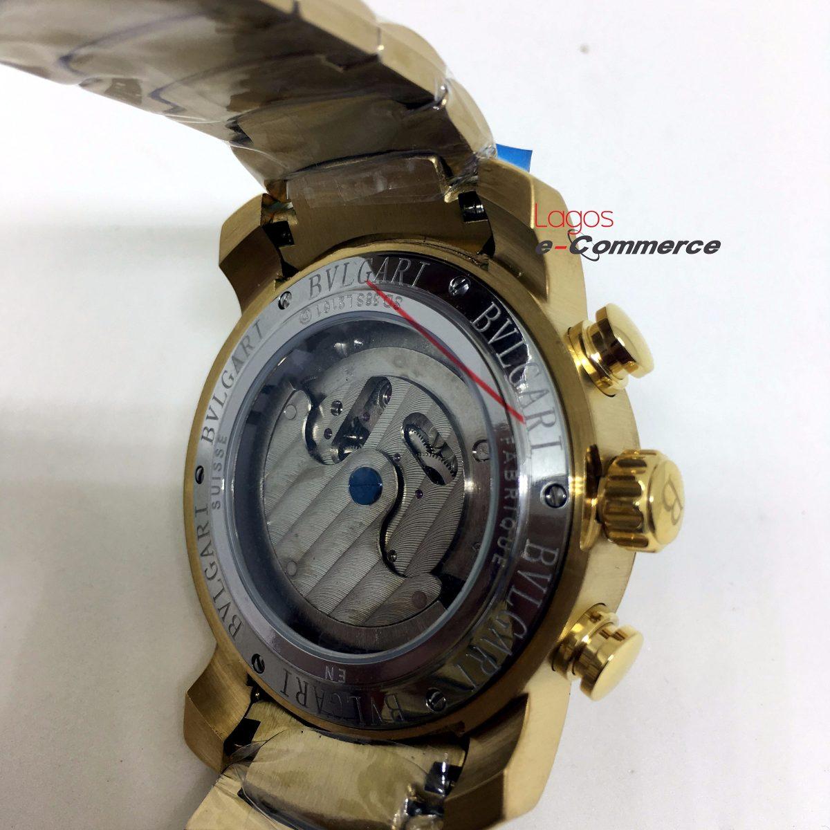 3b5bb719b5176 Relógio Bulgari Iron Man Aço Automático Produto Original R - R  449 ...