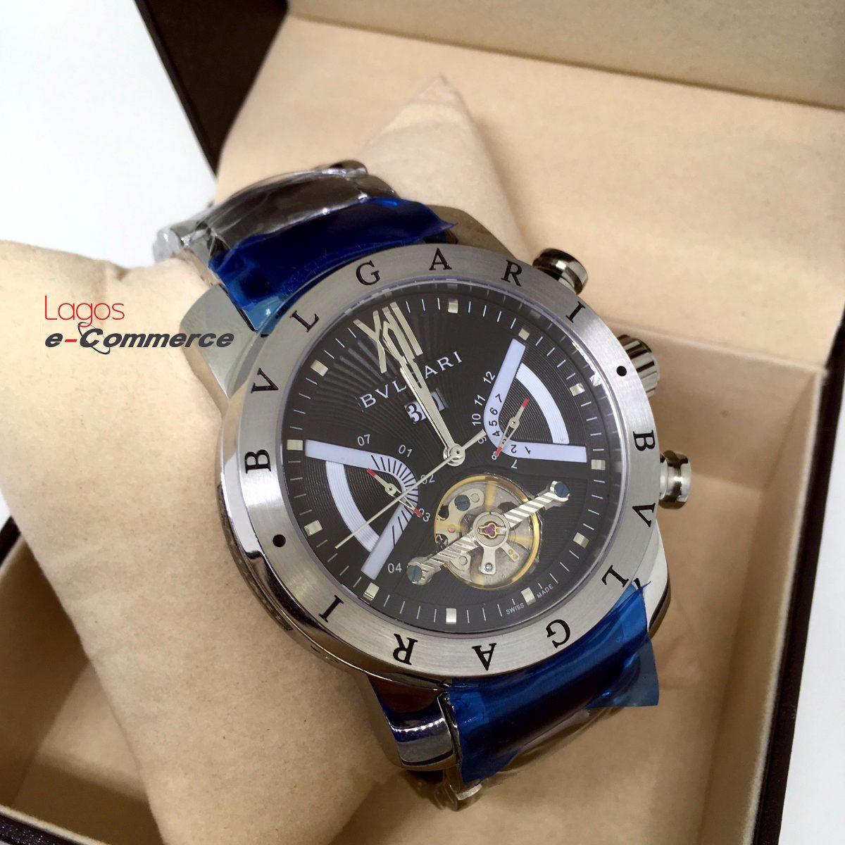 2dbfb1f40e8 relógio bulgari iron man aço automático produto original r. Carregando zoom.