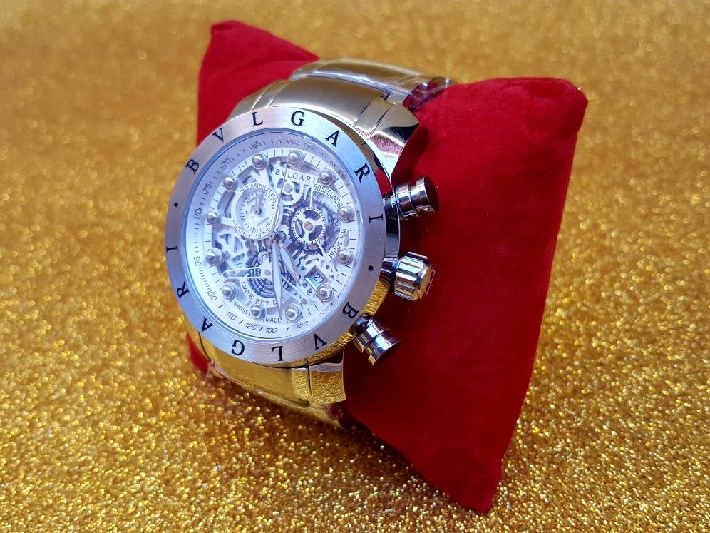 f12755e6fcf relógio bulgari premium subaqua esqueleton nuclear luxo. Carregando zoom.