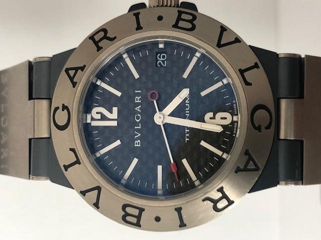 2f65d0f321b Relógio Bulgari Titanium 38 - R  6.950