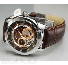 a597f6b0377 Relógio Bulova 96a120 Automatico Masculino Bva Couro Marrom - R ...