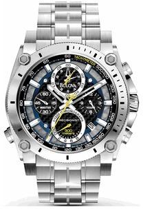 relógio bulova 96b175 precisionist uhf 262 original 46 mm