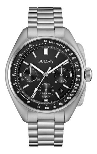relógio bulova 96b258 edição especial lunar pilot chronograp