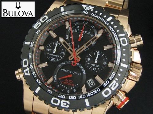 876003347cb Relógio Bulova 98b213 Precisionist Uhf 262 Rose Gold - R  3.679