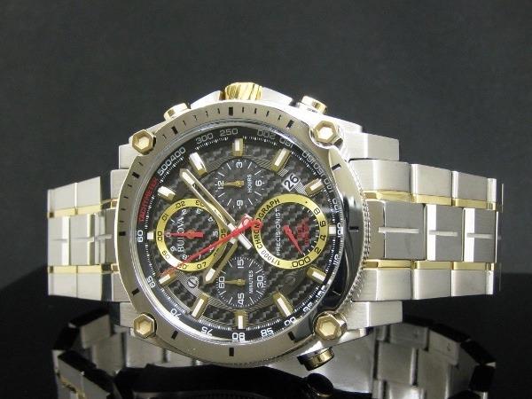 a7f8654f105 Relógio Bulova 98b228 Precisionist Uhf 262 Misto Dourado - R  2.969 ...
